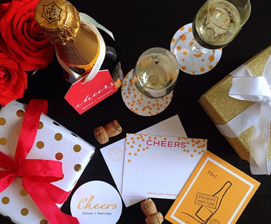 Veuve Clicquot's Festive Entertaining Collection by Minnie & Emma