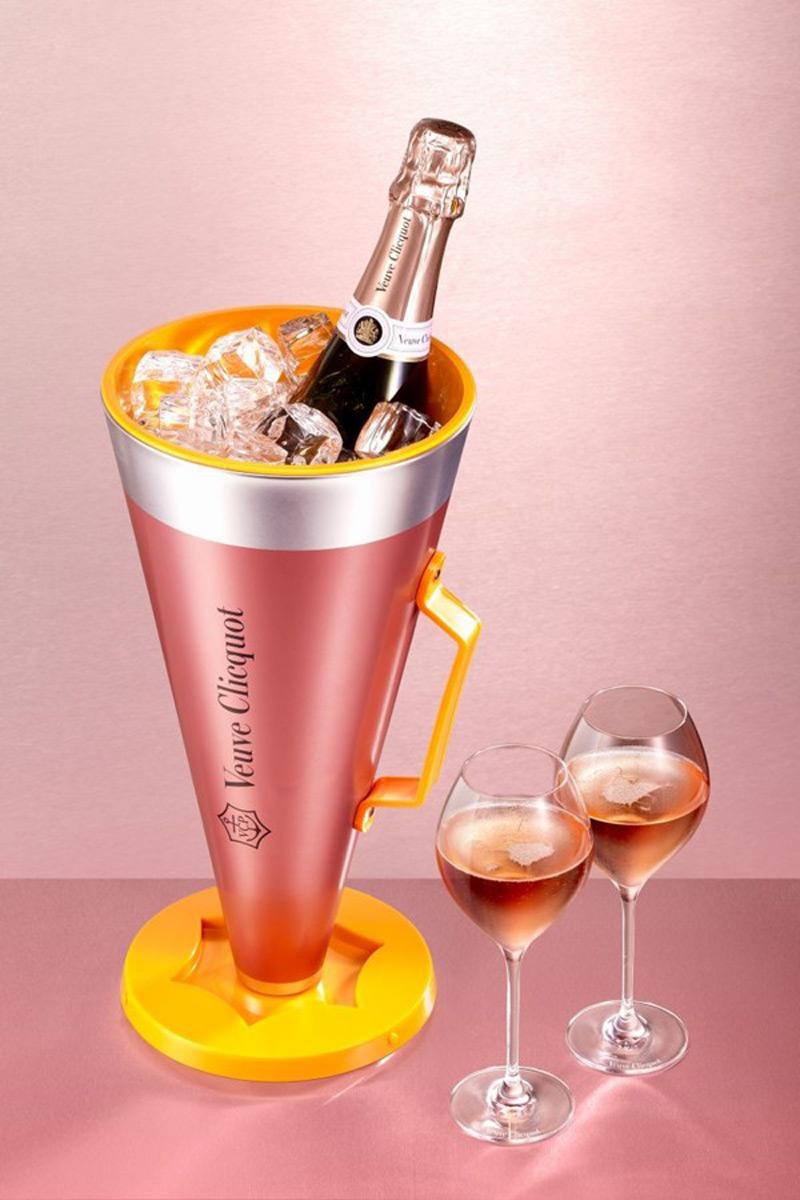Veuve clicquot ros scream your love package extravaganzi - Coupe champagne veuve clicquot ...