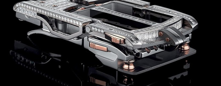 This is the most expensive belt buckle in the world and it costs more than two Ferrari's