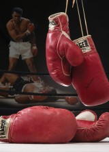 "Muhammad Ali & Sonny Liston Fight Worn ""Phantom Punch"" Bout Gloves at Auction"