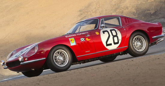 1966 Ferrari 275 GTB Competizione Sold For $9.4 Million