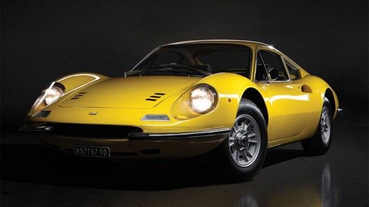 1970 Ferrari Dino 246 GT L Goes Under the Hammer by RM Auctions