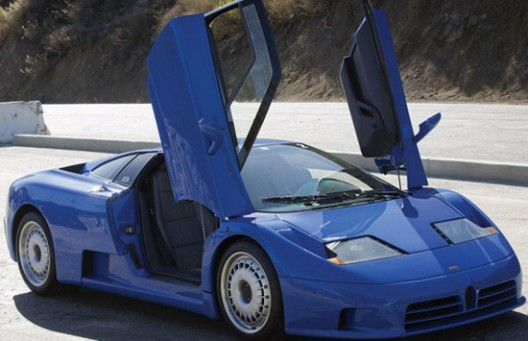 Bugatti EB110 GT from 1993 will be auctioned next week in Scottsdale, Arizona organized by RM Auctions