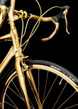 Goldgenie's 24 Carat Gold Bicycle Will Cost You £250,000