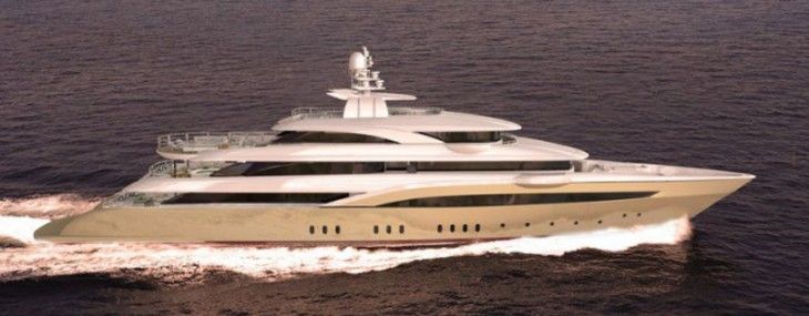 Golden Yachts' New 72-meter Mega Yacht O'Pari 3 to be Launched Soon