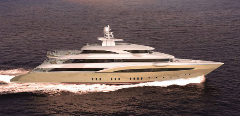 Golden Yachts' New 72-meter Mega Yacht O'Pari 3
