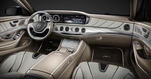 ARES Atelier has prepared a similar version which is named S-Class XXL