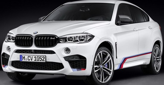 BMW X5 M And BMW X6 M With M Performance Package