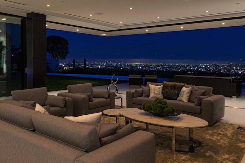 55 million newly built bel air mansion extravaganzi for The family room nightclub los angeles