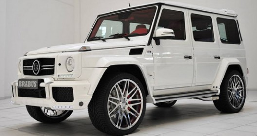 Brabus 700 Mercedes G63 AMG, comes with aero body kit