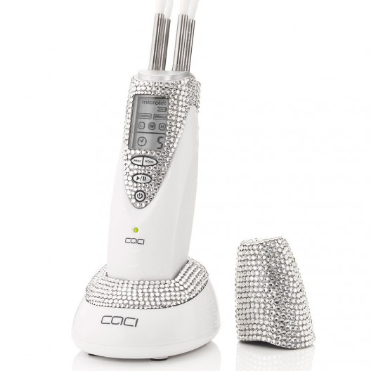 CACI, the world leader in non-surgical solutions, is gearing up to showcase their beautiful new hand encrusted Swarovski 'heart' crystal CACI Microlift