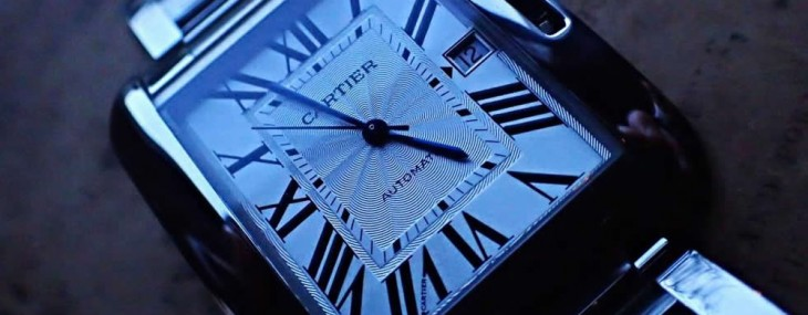 Cartier's Tank Anglaise XL Starts the New Year