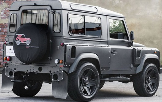 The team from Chelsea Truck Company presents its latest creation on the basis of the Land Rover Defender