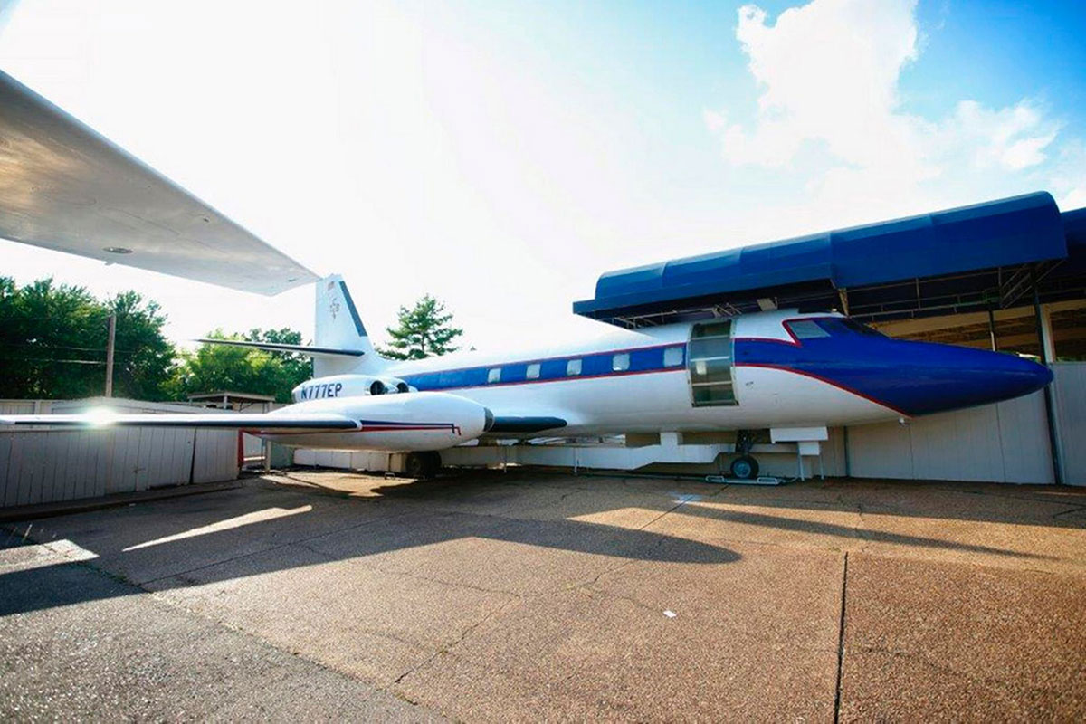 Elvis Presley's private jets Lisa Marie and Hound Dog II to be sold at