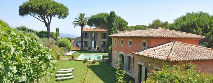 Magnificent Waterfront Estate In Les Parcs de St Tropez on Sale