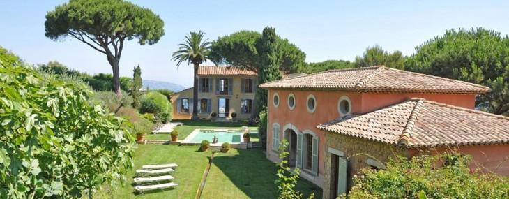 Magnificent Waterfront Estate In Les Parcs de St Tropez on Sale