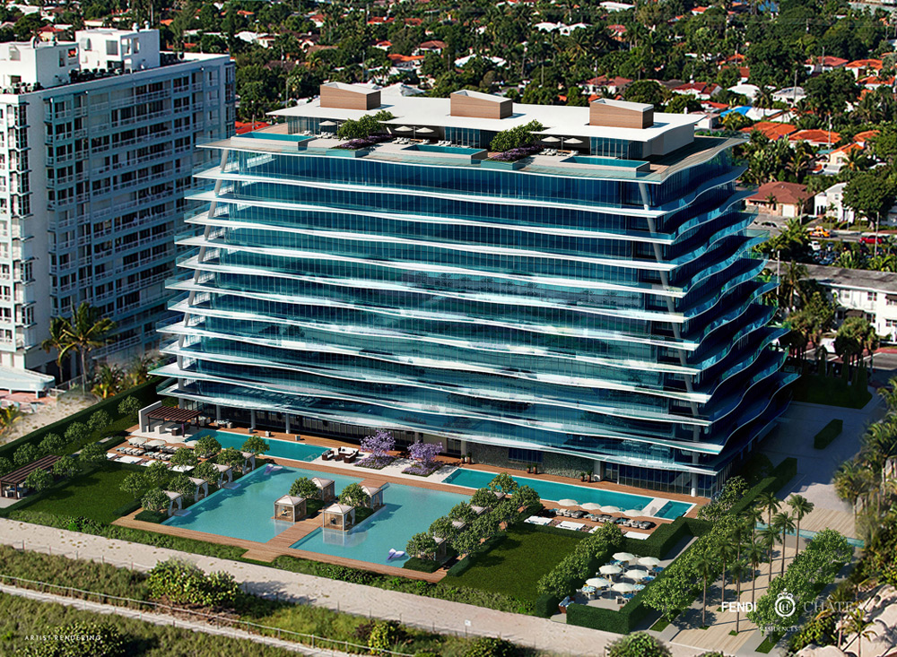 Fendi Château Residences New Luxury Waterfront Condominium