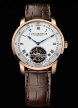 Graham Introduced Geo.Graham Tourbillon In Honor Of The Brand's Founder