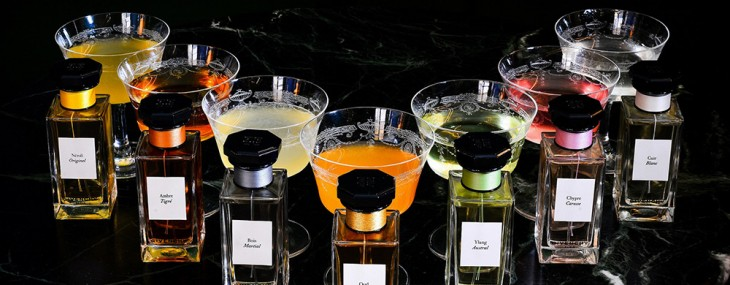 Givenchy's L'atelier Collection of Perfumes & Cocktails at London's Hotel Cafe Royal