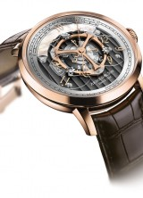 Golden Wheel by Arnold & Son – World's First Wandering Hours and True Beat Seconds Watch