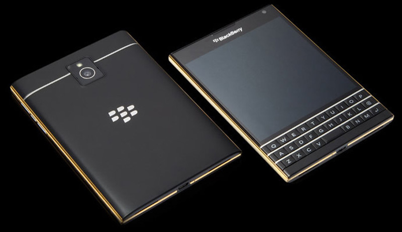 Goldgenie Adds Midas Touch to BlackBerry Passport