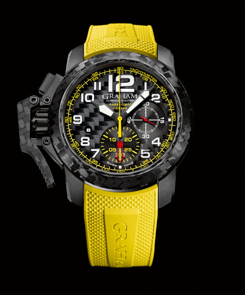 Graham Presents New Chronofighter Oversize Superlight Carbon