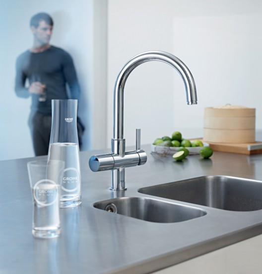 Chilled And Sparkling Water From Kitchen Tap