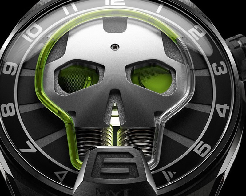 HYT Skull Watch - Limited Edition