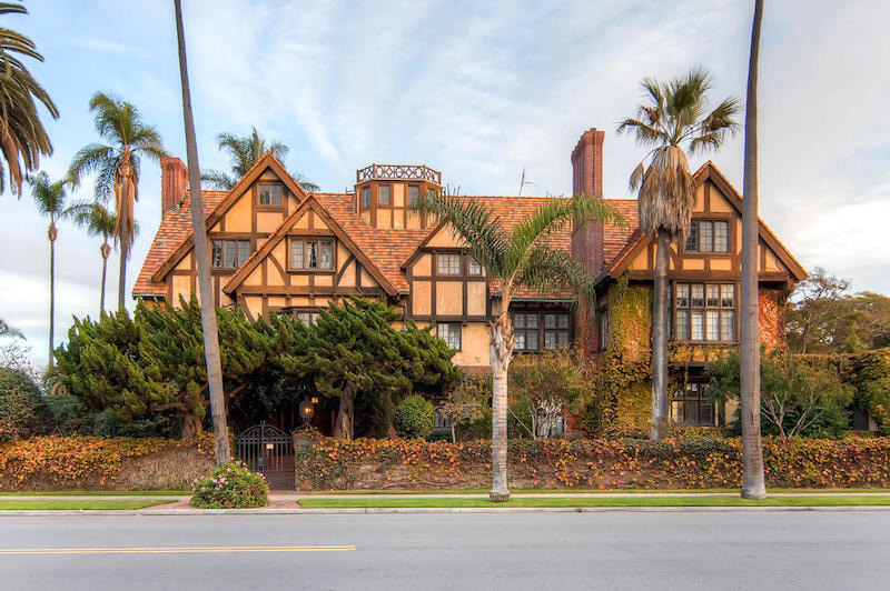 Historic Architectural Tudor Mansion In California on Sale for Less Than $20 Million
