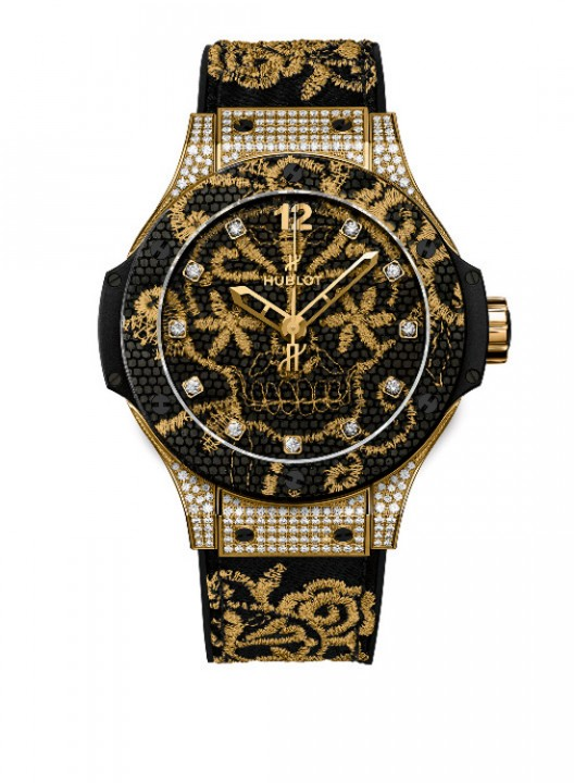 Sexy and Glamourous - Hublot Big Bang Broderie