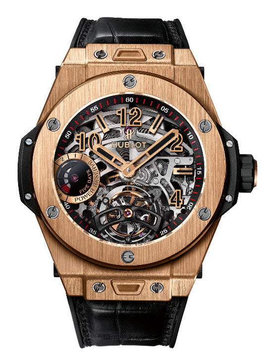 Hublot Big Bang Tourbillon 5-Day Power Reserve Indicator