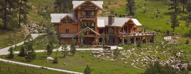 True Colorado Log Getaway On Sale