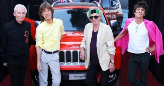 Jeep Renegade Signed by Rolling Stones Sold For $46,000