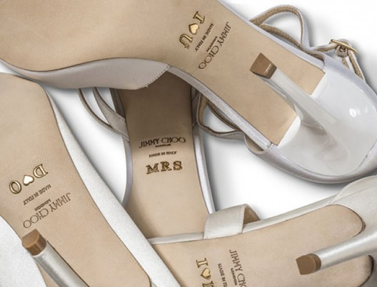 Make Your Own Jimmy Choo's Bridal Shoes