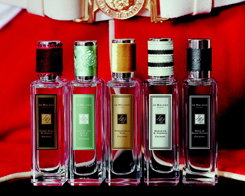 Jo Malone's Rock the Ages Collection of Perfumes