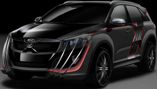 Model Kia X-Car inspired by the X-Men movie