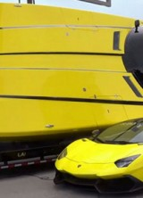 Unique Lamborghini Aventador Boat