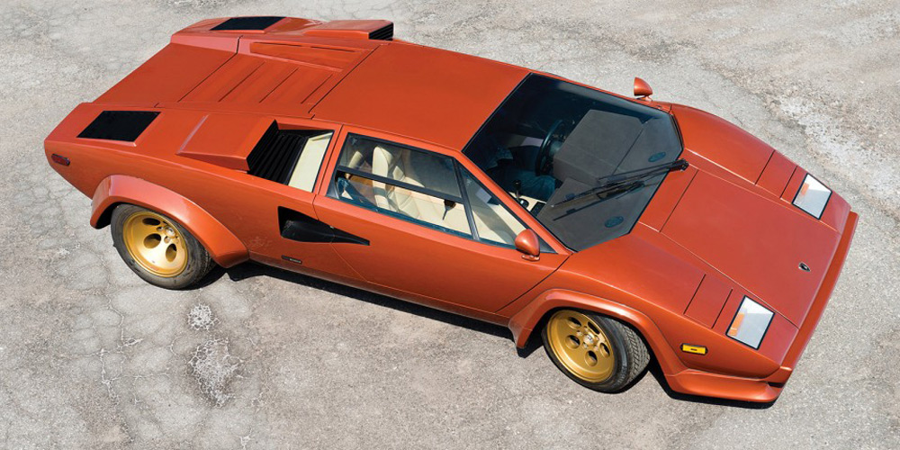 Trio Of Rare Lamborghini Countach Supercars At Rm Auctions