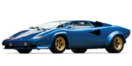 Trio Of Rare Lamborghini Countach Supercars At RM Auctions' Paris Sale