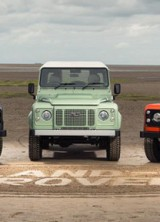 Land Rover Defender Heritage Edition, Adventure Edition And Autobiography Edition