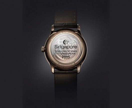 Longines' Limited Edition Watch for Singapore's 50th Anniversary of Independence