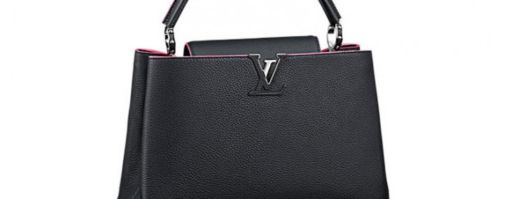 Louis Vuitton's Capucines Handbag In New Shades