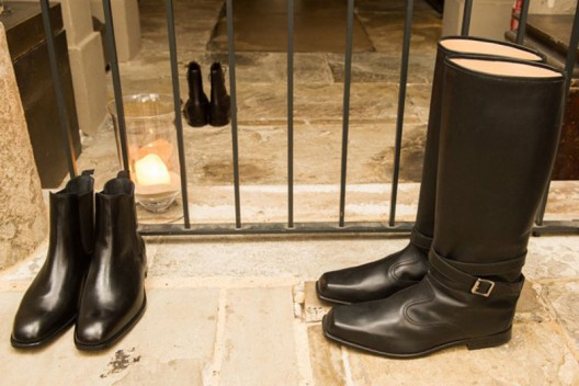 Manolo Blahnik's First Shoe Collection for Men