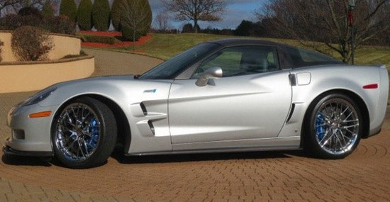 Mario Andretti's Car - 2009 Chevrolet Corvette C6 ZR1 on Sale