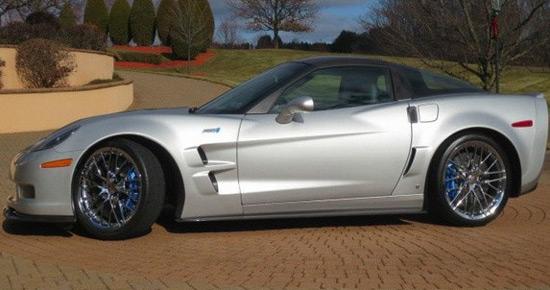 Mario Andretti's Car - 2009 Chevrolet Corvette C6 ZR1 on Sale
