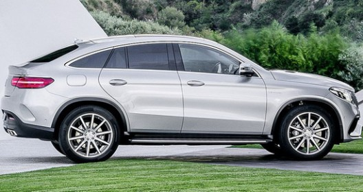 sporty Mercedes-AMG 4Matic Coupe GLE 63 variant