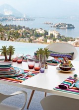 Missoni Home's First Collection of Tableware