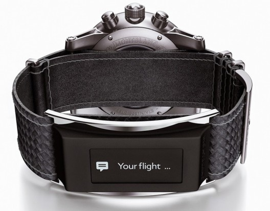 Montblanc's e-Strap Turns Traditional Watch Into Smarwatch