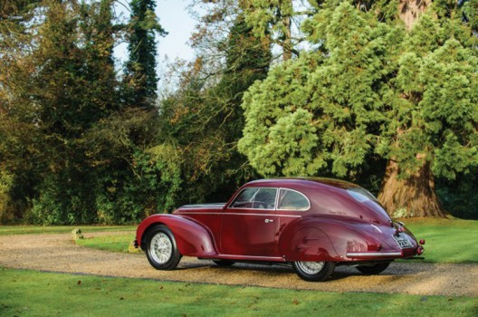 Alfa Romeo 6C 2500 Sport Berlinetta by Touring gifted by Mussolini to lover Claretta Petacci, takes centre stage at RM's Paris auction