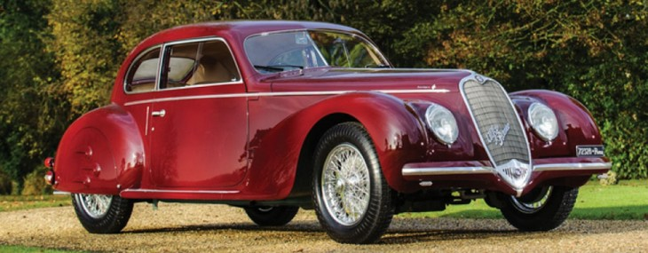 Mussolini's Mistress Alfa Romeo Sold for $2,4 Million at Auction
